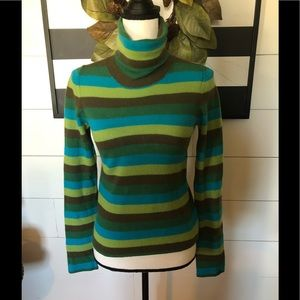 Anthropologie MOTH Turtleneck Cashmere sweater S